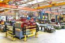 Påkørselsbeskyttelse Kilan 1-bjælke, H 1216 mm, B 1000 mm