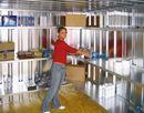Reolsystem til opbevaringscontainer Totak, BxD 2000x420 mm
